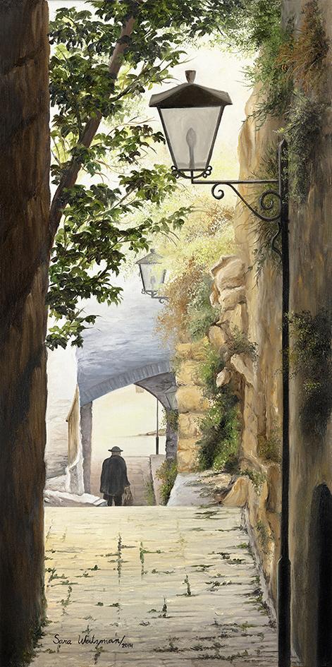 20 The narrow passage in Tzefat