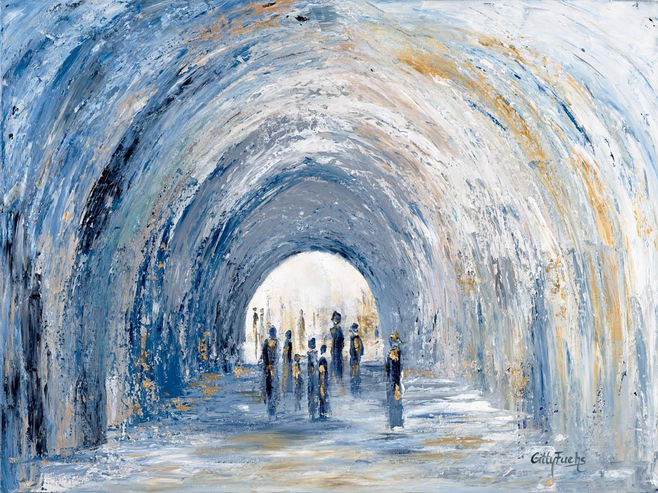judaic_artist_gitty_fuchs_Arches_60x80cm (5)